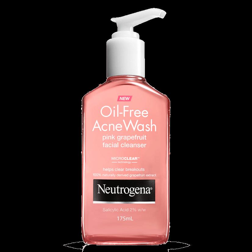 Oil Free Pink Grapefruit Cleanser Neutrogena 174 Australia