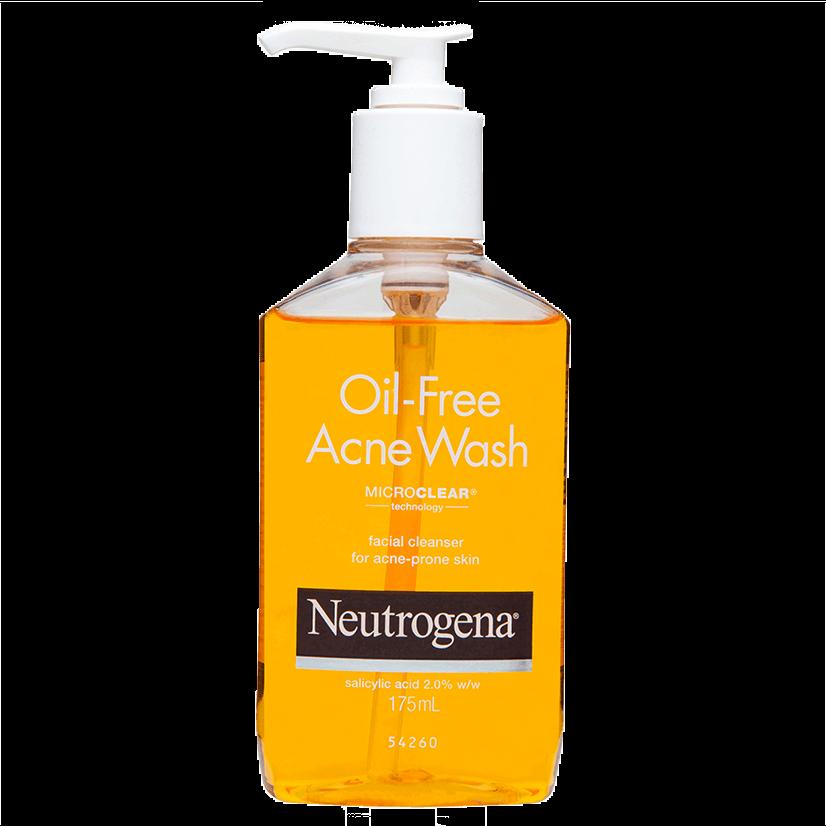 Neutrogena oil-free acne wash facial cleanser