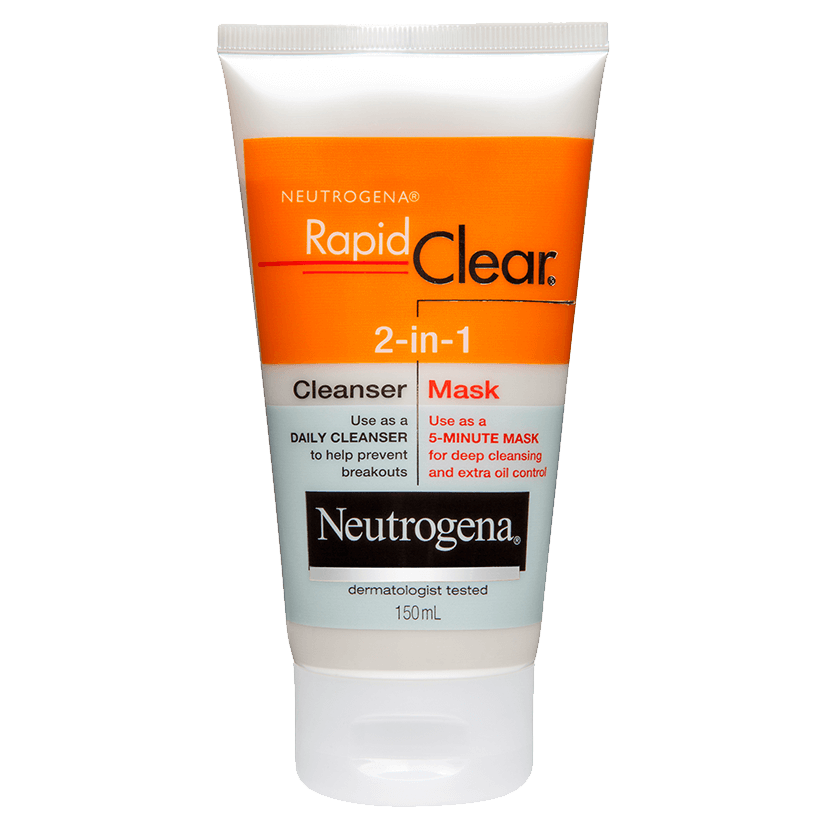 Rapid Clear 2-in-1 Cleanser Mask