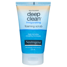 Neutrogena® Deep Clean® Invigorating Foam Scrub 125mL