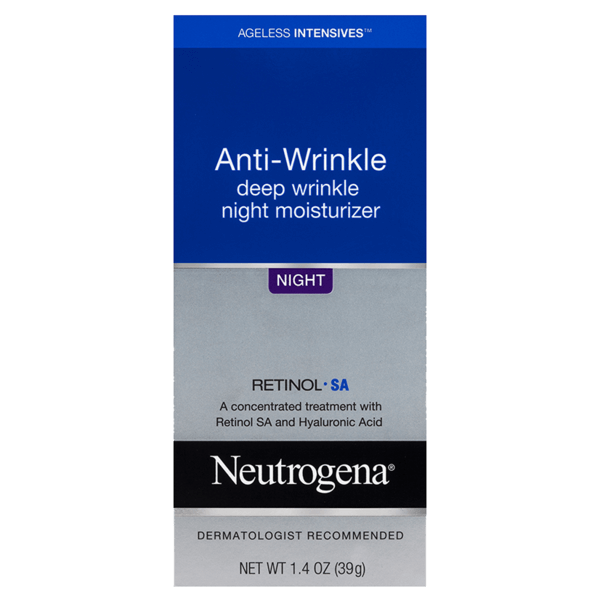 Neutrogena® Ageless Intensives® Deep Wrinkle Night Cream 39g