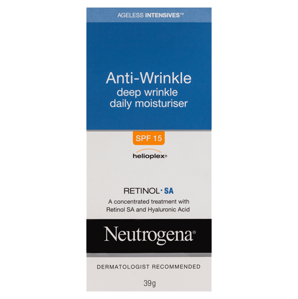 Neutrogena® Ageless Intensives® Deep Wrinkle Moisturiser SPF15 40g
