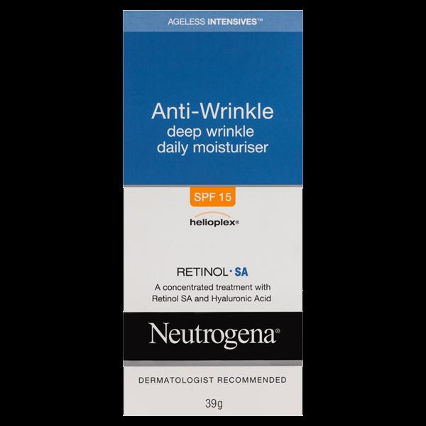 Neutrogena® Ageless Intensives® Deep Wrinkle Moisturiser SPF15 40g