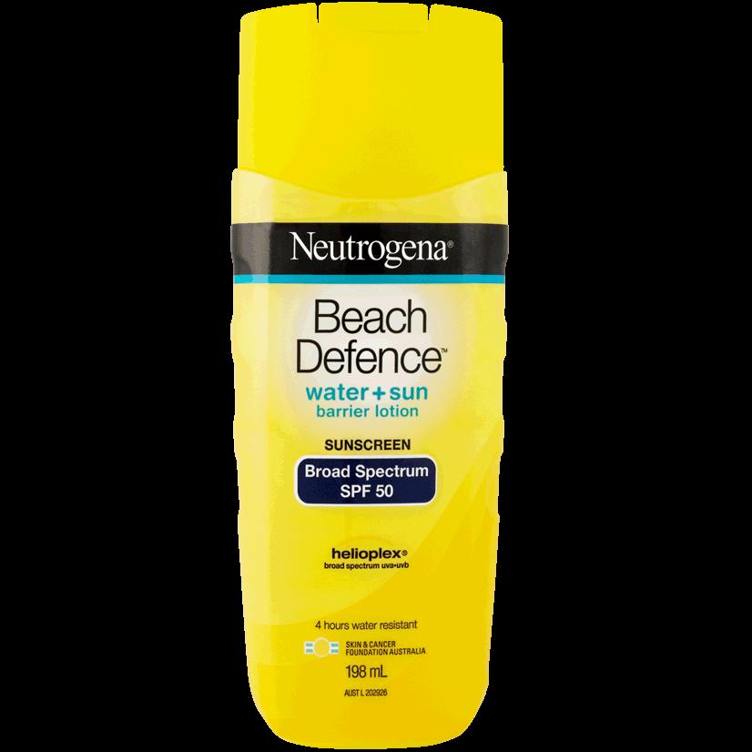 Neutrogena® Beach Defence® Lotion SPF50 198mL