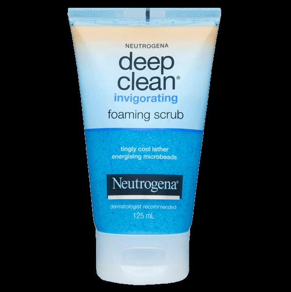 Neutrogena® Deep Clean® Invigorating Foam Scrub 125mL