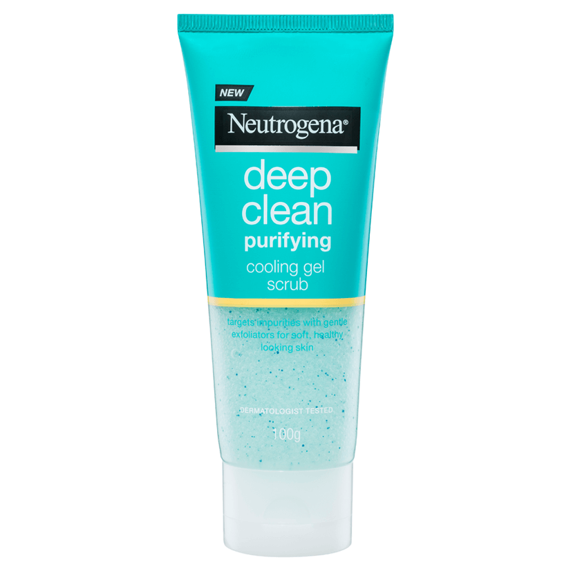 Neutrogena® Deep Clean Purifying Cooling Gel Scrub
