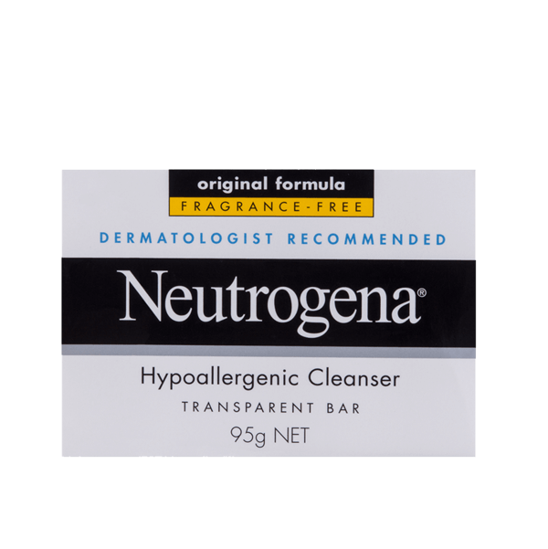 Neutrogena® Hypoallergenic Cleanser Bar 95g