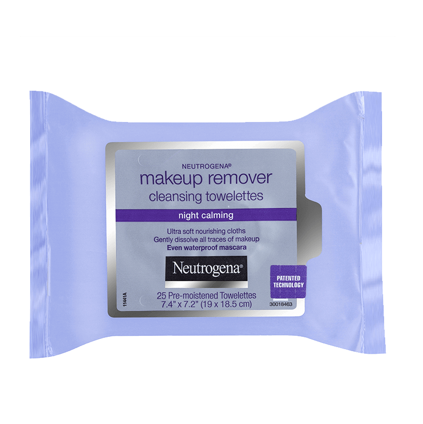 Neutrogena® Night Calm Make-Up Remover Wipes 25