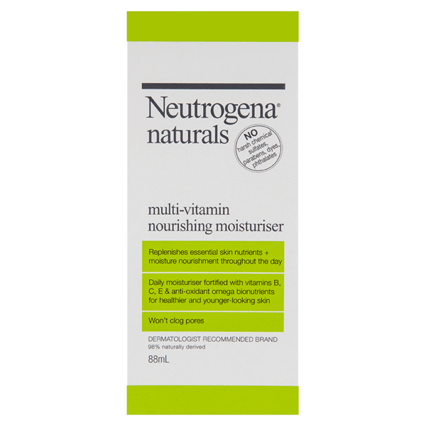 Neutrogena® Naturals Multi-Vitamin Daily Moisturiser 88mL