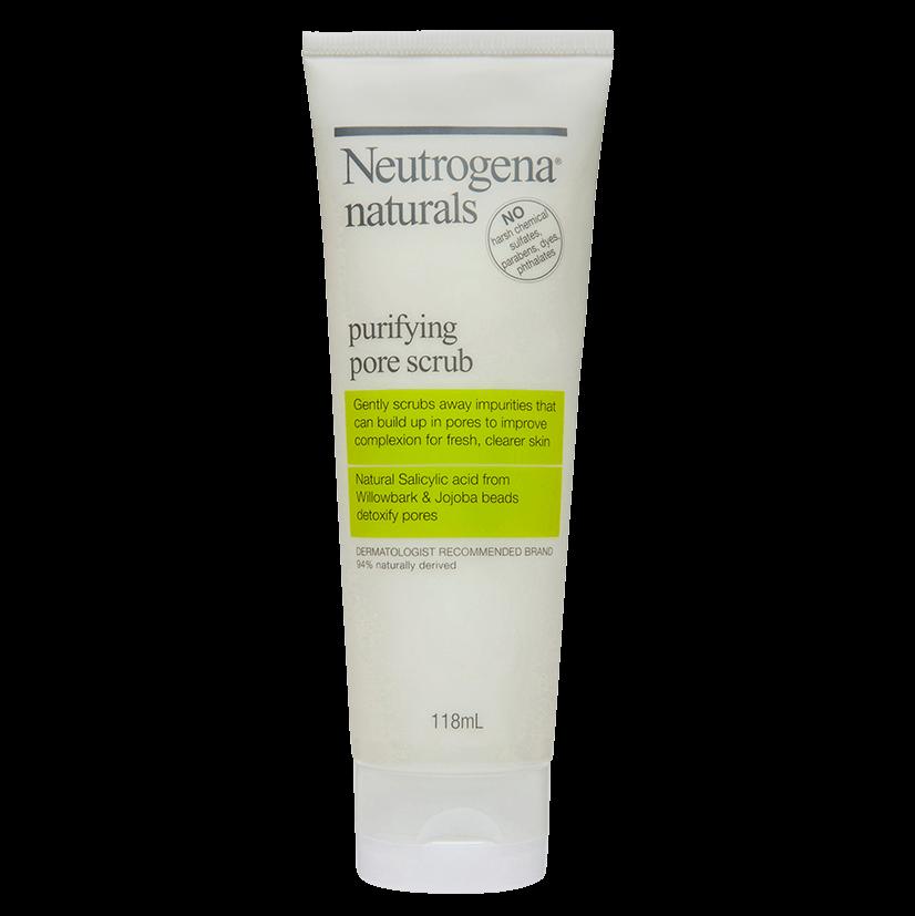Neutrogena® Naturals Purifying Scrub 118mL