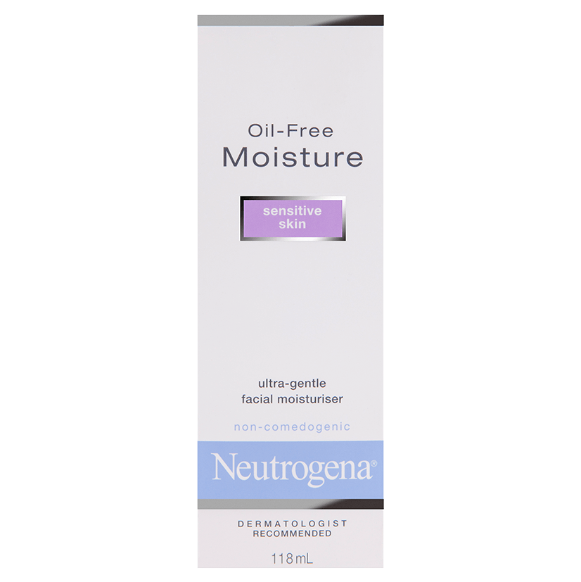 Neutrogena® Oil-Free Moisture - Sensitive Skin 118mL