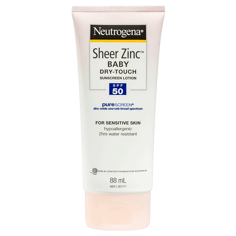 Neutrogena® Sheer Zinc™ Baby Lotion SPF50 88mL