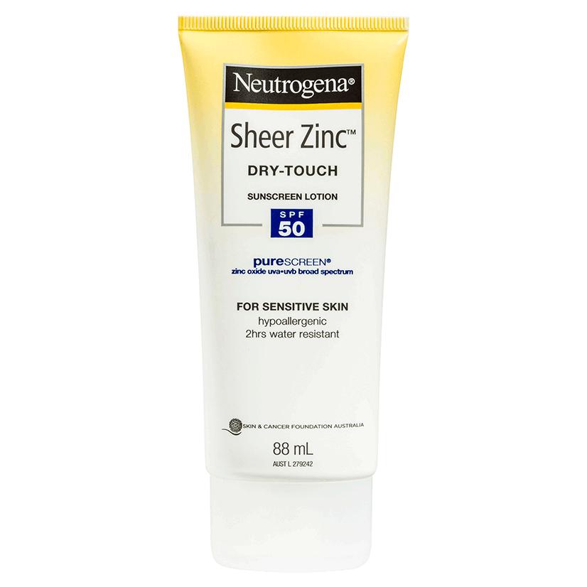 Neutrogena® Sheer Zinc™ Body Lotion SPF50 88mL