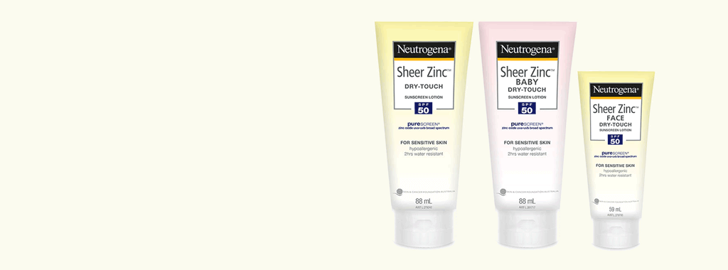 Neutrogena Sheer Zinc™ Dry-Touch