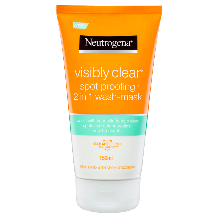 Visibly Clear Spot Proofing 2 In 1 Wash Mask